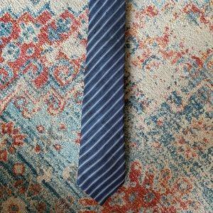 John Varvatos Linen Stripe Tie
